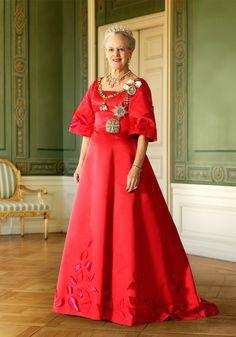 HM Queen Margrethe II, 2012    Photographer: Jacob Jorgensen