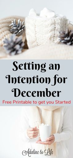 Have you tried setting an intention for December to help you stay focused on what you feel is most important? I have a free printable to help you get some ideas started. Mindful Parenting, Positive Motivation, Daily Journal, Meaningful Life, Simple Stories, December Daily, Easy Diy Crafts, Food Festival, Favorite Holiday