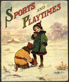 475ed45b5a1 Sports and Playtimes 1918 Frances Brundage Baseball Scottish Boy