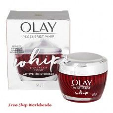 Olay Regenerist Whip Active Moisturiser 50g. Moisturiser, Cleanser, Olay Products, Olay Regenerist, Day Makeup, Travel Size Products, Cleaning Agent