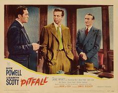 Humphrey Bogart & Lizabeth Scott in a publicity still for ...