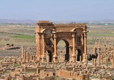 Timgad. Algeria.