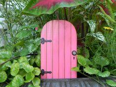 Fairy Door fairy accessories garden miniature  with black