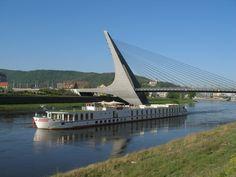 Mary's Bridge over Elbe, Ústí nad Labem Czech Republic, Bridge, Country, Travel, Viajes, Rural Area, Bridge Pattern, Bridges, Destinations