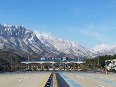#Misiryeong Tollgate, Gangwon Province, Korea | 미시령 톨게이트