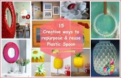 15 Creative Plastic Spoon Craft Ideas