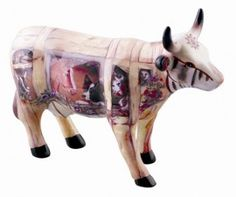 Cow parade, shop,Walter Knapp,