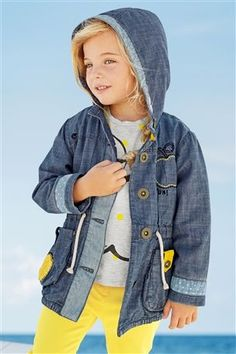 Buy Chambray Apple Jacket (3mths-6yrs) from the Next UK online shop