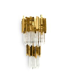 Empire Wall Lamp gets its inspiration from The Empire State Building and that's why this creation is so powerful and capable to transform every space in a. Classic Lighting, Luxury Lighting, Lighting Design, Lamp Design, Lighting Ideas, Design Design, Empire Chandelier, Modern Chandelier, Chandelier Lighting