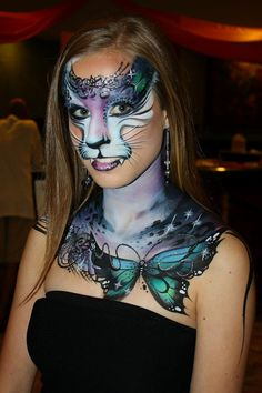 Design by Lynne Jamieson at the 2012 Face and Body Art International Convention, Ft. Lauderdale, Florida