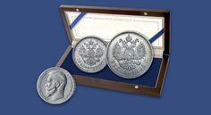 Poslední ruský vládce Mikuláš II. v sadě mincí starých víc jak 100 let! Originální historické ruské emise ražené do stříbra vysoké ryzosti (900/1000).