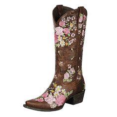 Farmer's Market: Floral Boot Pickings