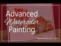 Art Impression Watercolor Wreath - YouTube