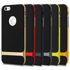 For-iPhone-6-4-7-Plus-5-5-Hybrid-Hard-Bumper-Soft-Rubber-Skin-Case-Cover-SCP