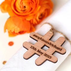 A wedding hashtag - 101 Wedding Favour Ideas