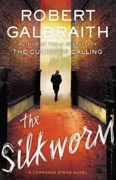 The silkworm by Robert Galbraith.  Click the cover image to check out or request the bestsellers kindle.