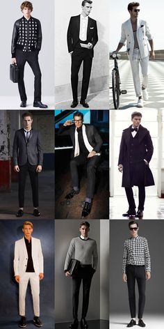 Ways To Wear Monochrome in 2014 Autumn/Winter: Smart/Formal Monochrome Lookbook Inspiration