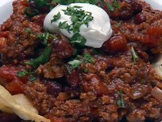 Lightning Chili and Rice Recipe by Robert Irvine