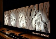 parametric generative design: Synthetic Grain by PROJECTiONE
