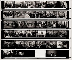 Contact Sheet III  (2011)  From the series Shoulder to Shoulder.