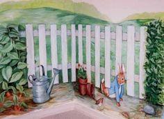 Peter Rabbit Nursery Murals : Nursery Murals and More