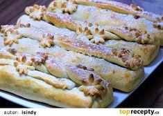 Štrůdlíci ze zakysané smetany recept - TopRecepty.cz Sponge Cake, Food To Make, French Toast, Bread, Cooking, Breakfast, Ethnic Recipes, Sweet, Basket