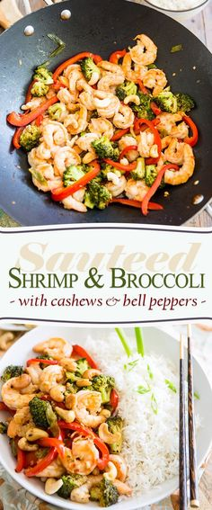 Sauteed Shrimp Broccoli | http://thehealthyfoodie.com