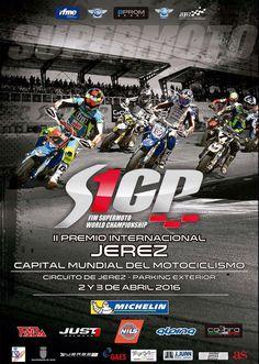 Cto. del Mundo @FIM_live de @Supermoto_GP (2/3 abril). Circuito Jerez/parking exterior frente Acceso1.