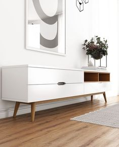 Nilsson TV Stand | Mid-Century Modern | Kure Collection #tvstandsminimalist
