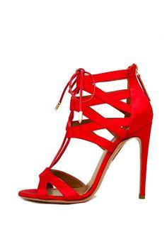 Aquazzura ankle cuff heels