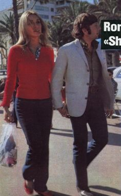 Sharon and Roman, Cannes 1968