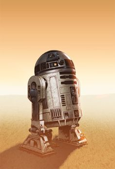 R2d2  by Eddy-Swan on deviantART #starwars #fanart