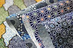 Blue Japanese Papers (washi) by karaku* Japanese Colors, Japanese Prints, Japanese Design, Japanese Paper, Japanese Kimono, Japanese Wrapping, Clay Stamps, Origami Heart, Paper Ribbon