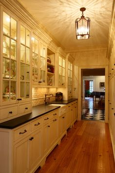 Butler's pantry, kitchen interior design ideas and home decor by VA. BOWA Design-Build.