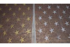 Tul blanco con estrellas en blanco o dorado a elegir, tejido rígido y maleable, ideal para disfraces para carnaval y para decoración.#tul #estampado #estrellas #blanco #dorado #rígido #maleable #disfraces #carnaval #decoración #tela #telas #tejido #tejidos #textil #telasseñora #telasniños #comprar #online #comprartelas #compraronline