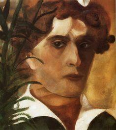 Marc Chagall. Self-Portrait. 1914