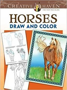 afbeeldingsresultaat voor creative haven coloring book draw and color horses - Thrill Murray Coloring Book
