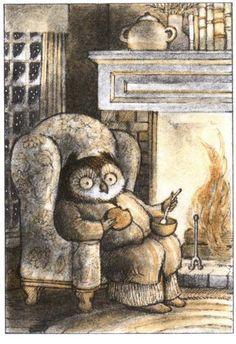 Arnold Lobel. Owl at home.
