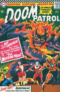 doom patrol | Doom Patrol #12 preview! (and more for July)