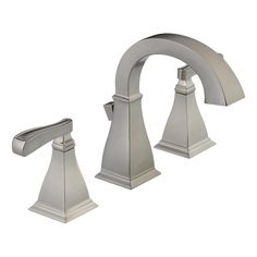 MAIN BATH - Delta 35717-SP-DST - Two Handle Widespread Lavatory Faucet, Lowe's only $274