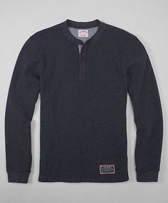 every man needs a henley. this one from BB is on its way to me.