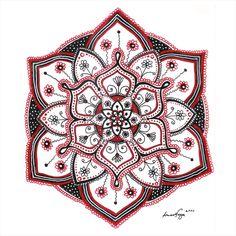 #Mandala art by Timea Varga