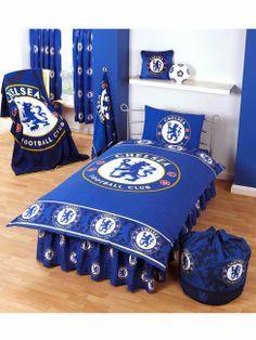 http://www.arab-bedroom.com/2014/04/blog-post_24.html Football Room Decor, Football Quilt, Football Bedroom, Boys Soccer Bedroom, Soccer Boys, Kids Bedroom, Chelsea Football, Chelsea Fc, Soccer Theme