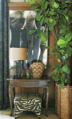 Blanco Interiores: Em modo tropical...