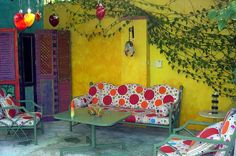 Puerto Vallarta Artist Retreat and Workshops - Image Gallery Puerto Vallarta, Spanish Colors, Artist Workshop, Texas Gardening, Back Patio, My Room, The Great Outdoors, Paint Colors, Garden Design