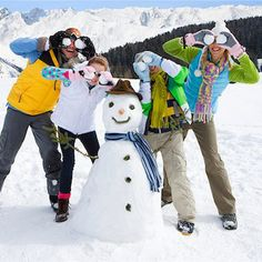 10 Winter Fitness Activities for the Whole Family