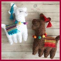Llamas a crochet