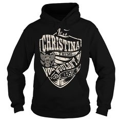 Its a CHRISTINA Thing (Eagle) - Last Name, Surname T-Shirt
