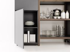 "This model introduces a genuine ergonomic revolution, considerably increasing the storage capacity of base units while preserving the much-loved ""floating"" layout effect."