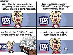 Sack cartoon: Fox News   Star Tribune